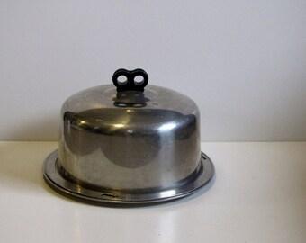 Vintage Aluminum Cake Saver