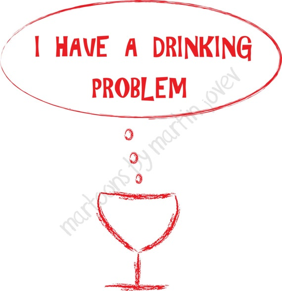 Wine Glass Cartoon Funny Cartoon About Red Wine