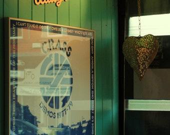 Golden heart - Golden light - Forest green - In the City - Fine Art photography print - Wall Art - Home Decor - Art print