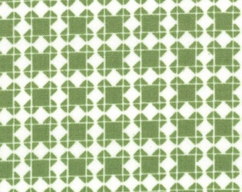 SALE - Quilt Blocks - Marine Green by Ellen Luckett Baker from Moda