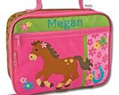 Personalized Lunch Box Bag Stephen Joseph Horse