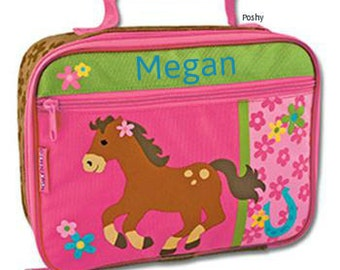 Personalized Lunch Box Bag Stephen Joseph Horse