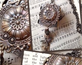 Handcrafted Wearable Art Book Necklace
