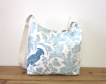 Robin Egg blue shoulder bag/messenger bag/Mother's Day gift/summer bag - ready to ship