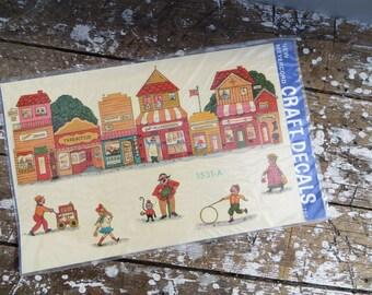 Furniture Decals 19602  Decals Vintage Stickers Meyercord Decals Arts and Crafts Folk Decals Modern