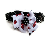 Ladybug Collar size Small