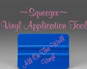 Squeegee Application Tool Vinyl Wall Decals