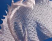 Hand Knitted Bridal Shawl, Hand Knit Pink Shawl, Pink Lace, Bridal Lace Shawl, Pale Pink Scarf