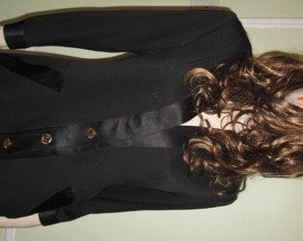 Authenti Chanel Suit Black