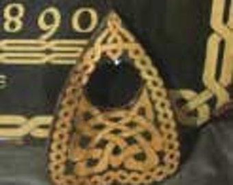 Lord Mocks  Small (reversed) Celtic Knot Planchette(Spirit Pointer)