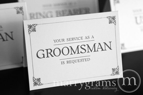 Groomsman Invitation Cards was great invitations design