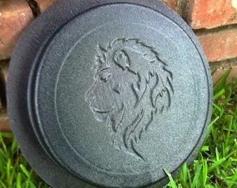 Lion Leo Concrete Cement Stepping Stone Paver Stone Mold