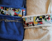 HOODED TOWELS  -- Baby / Toddler -- Mickey Mouse Print