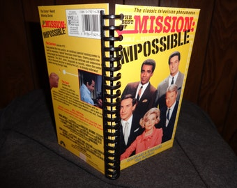 Mission: Impossible VHS notebook