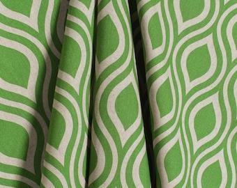 Green Natural Laken Organic Curtains Nicole  Rod Rocket  63 72 84 90 96 108 120 Long x 25 or 50 Wide