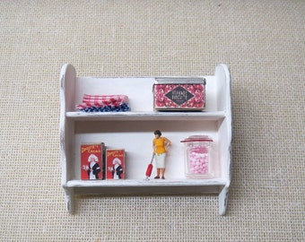 Dollhouse Kitchen wall shelf