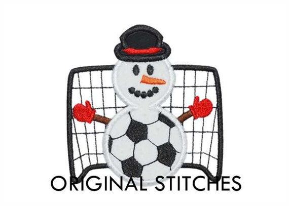 Soccer snowman applique and machine embroidery digital for 7x11 bathroom layouts