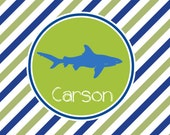 Personalized Shark Placemat