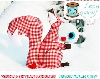 Geschenke selbstgemacht: Eichhörnchen Mipzz (eBook - Deutsche Version)