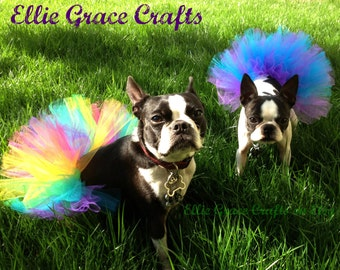 Dog Tutu: Custom Dog Tutu - XS, Small, Medium, Large, XL - You Choose Colors