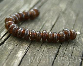 recycled Bud Light glass beads