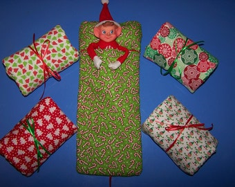 Elf Christmas Sleeping Bag