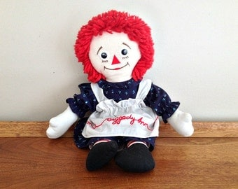 Vintage Raggedy Ann Doll Applause