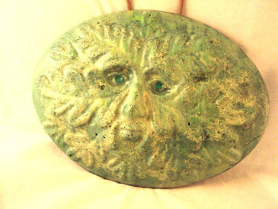 Green Man Garden Wall Hanging