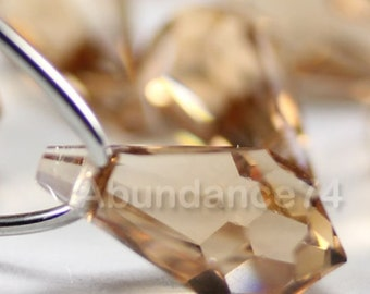 8pcs Swarovski Crystal 6000 11mm Teardrop Pendant Light Colorado Topaz