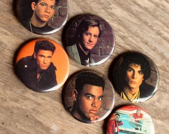 GUYS NEXT DOOR - Set of Pins - 80's 90's