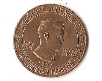 1927 Lucky Lindbergh Coin....