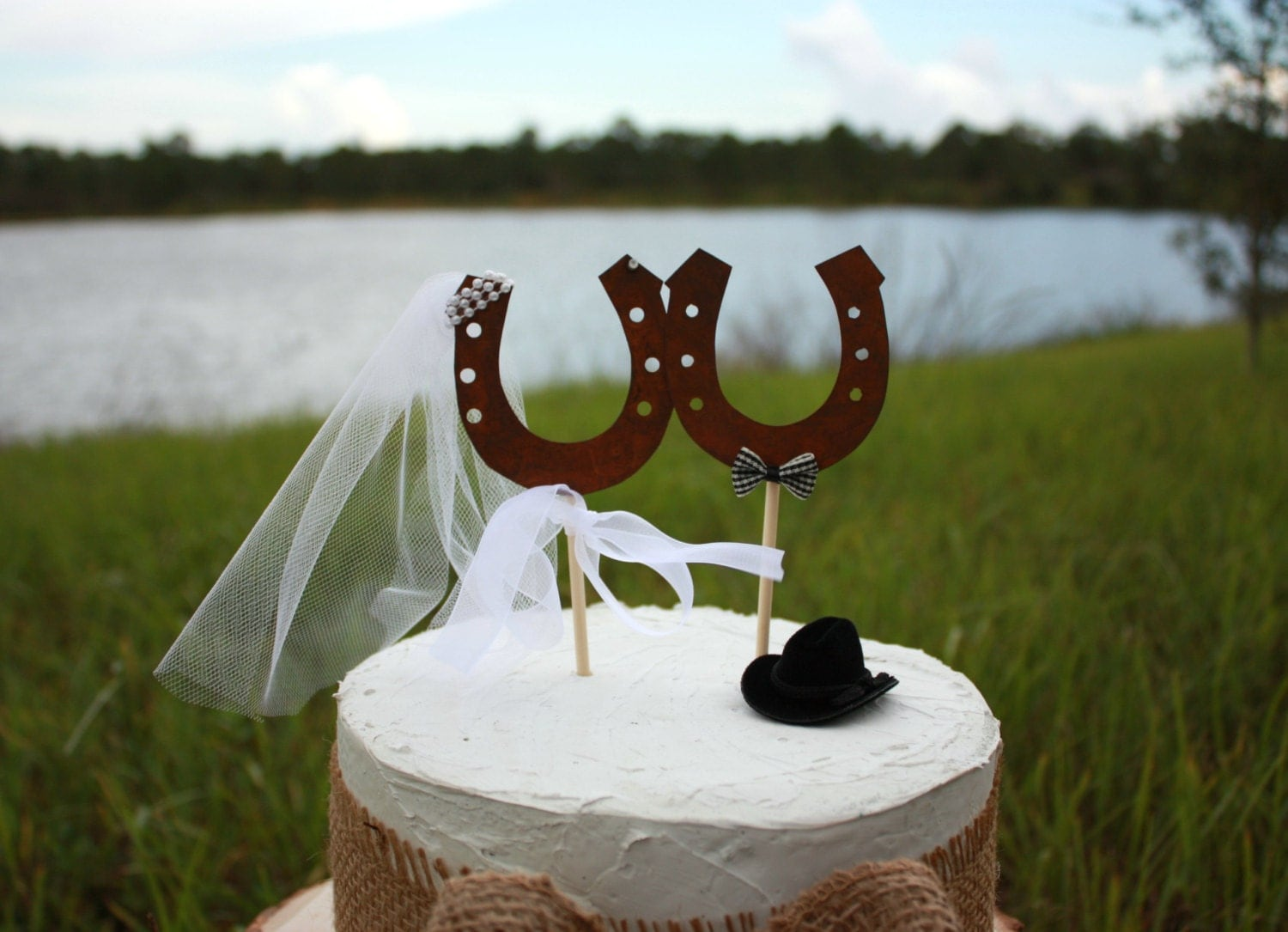 horseshoe wedding cake toppers western wedding cake topper shoe rustic wedding wedding 15319