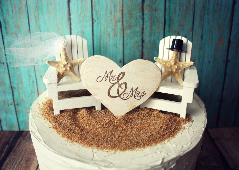 Adirondack Chair Wedding Cake Topper