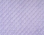 Lavender Dimple Minky From Shannon Fabrics