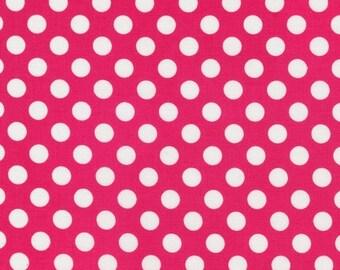 Spot On Hot Pink Dots From Robert Kaufman