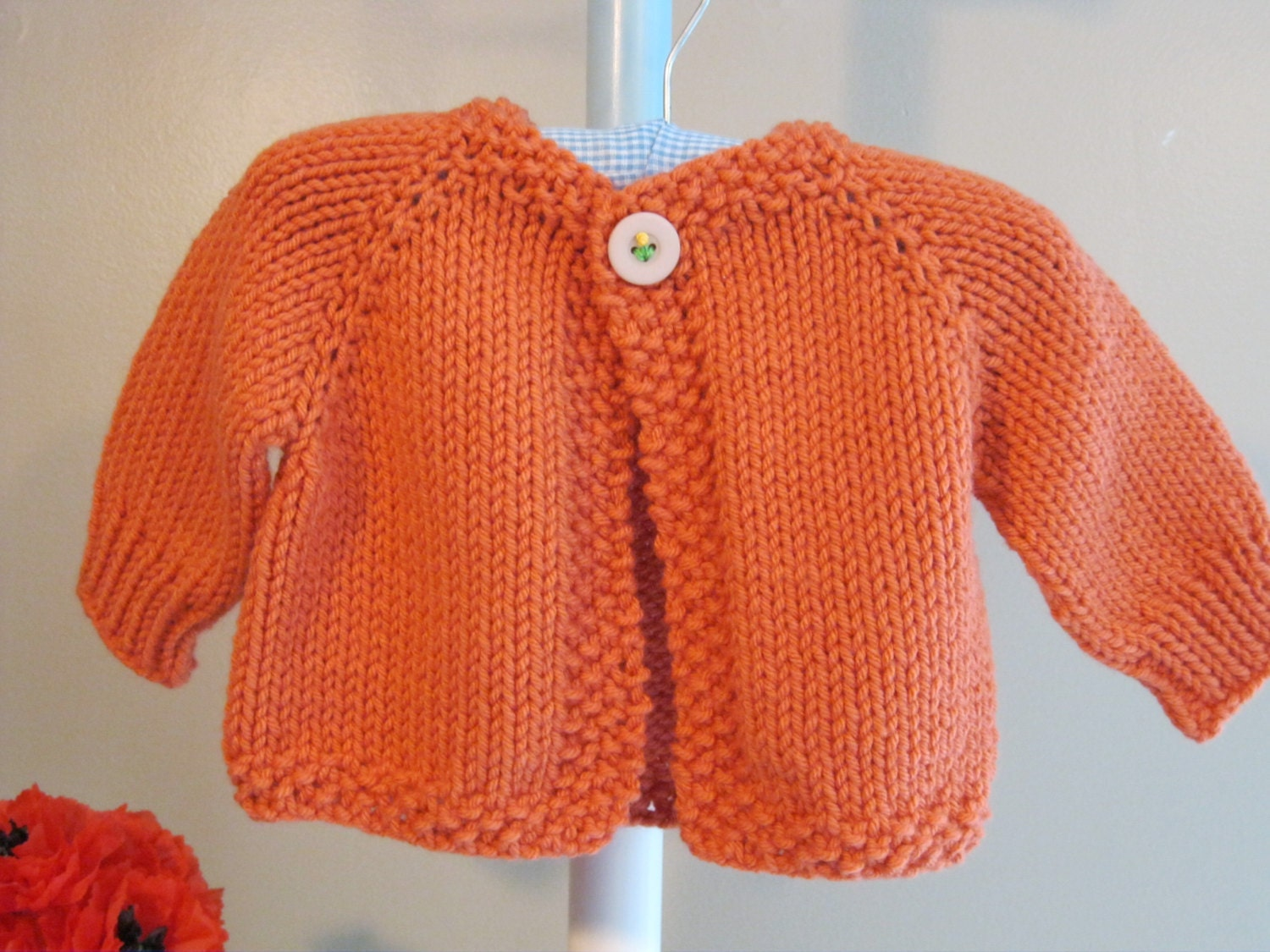 Knitting Cardigan For Baby : Melanie s cardigan knitting pattern for a baby
