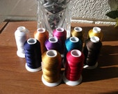 11 acrylic thread for sewing & embroidery machine sewing supplies
