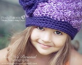 Crochet PATTERN - Crochet Hat Pattern - Crochet Patterns for Kids - Includes Newborn, Baby, Toddler, Child, Kids, Adult Sizes - PDF 187