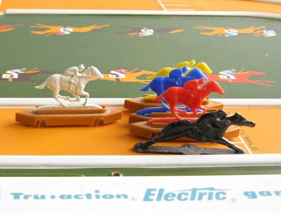 Horse Racing Board Games Vintage Horse Race Game