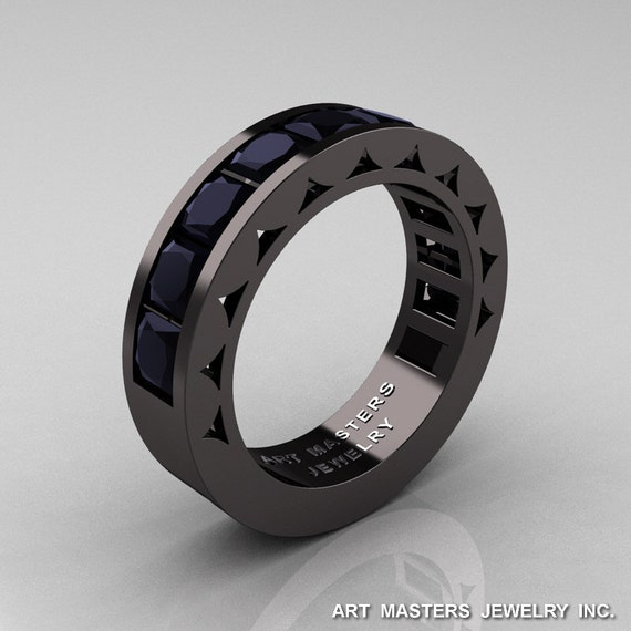 like this item - Black Diamond Wedding Rings For Him