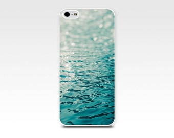 beach iphone case 4 4s 5 5s 6 nautical iphone case abstract photography iphone case bokeh photography ocean waves art case iphone 5 5s  teal