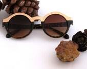sun glasses vintage, round english design