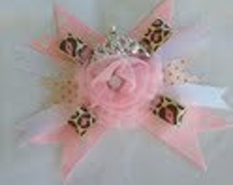 Tule Princess Hair Bow