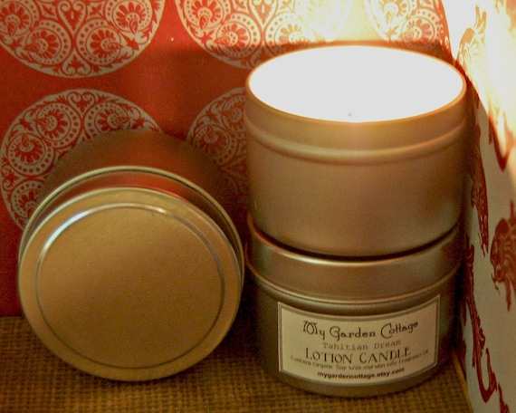Sale: Set of 4 Soy Candles  (4 oz)