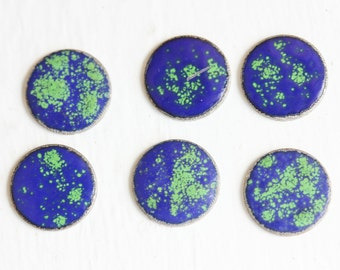 World Spotted Cabochons (6x)