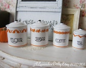 Witchween Dollhouse Canisters 1/12 scale