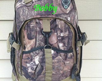 Personalized Mossy Oak Backpack