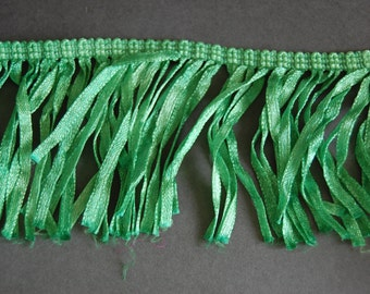 Apple Green Ribbon Fringe