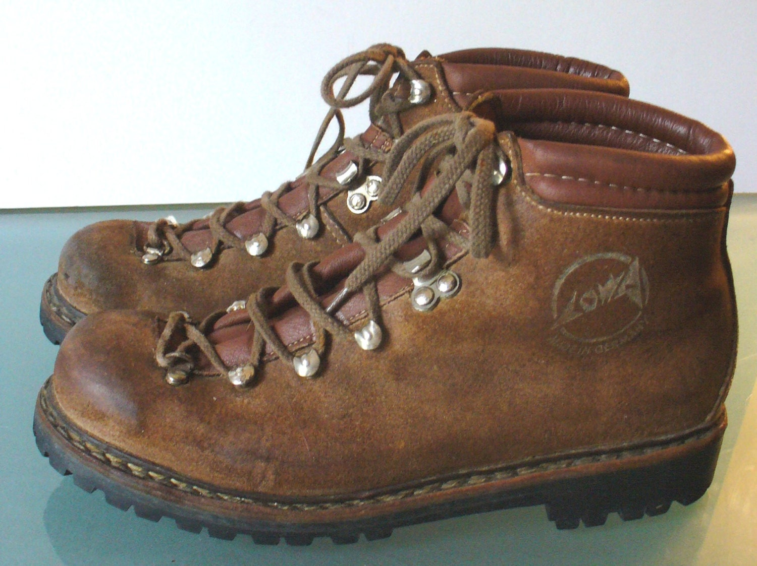 Vintage Made In Germany Lowa Hiking Boots