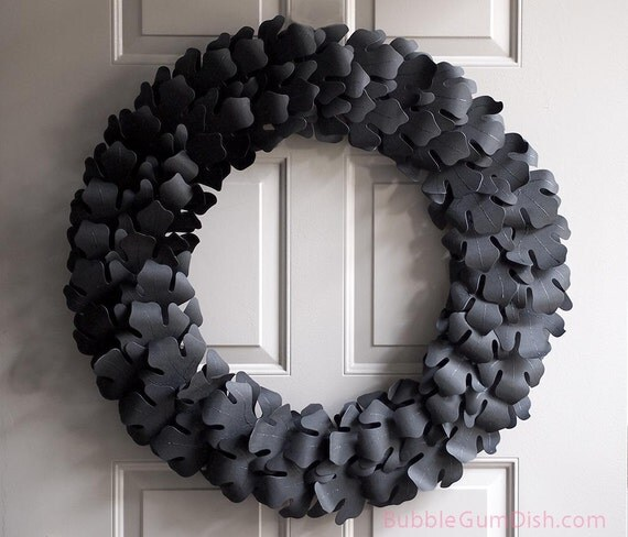 Jet Max Limited Lighted Grapevine Pumpkin: Elegant Halloween Decor Autumn Wreath Black By BubbleGumDish